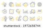 set of science icons  such as...   Shutterstock .eps vector #1972658744