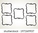 ornamental penmanship... | Shutterstock .eps vector #197269937