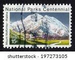 usa  circa 1972  postage stamp... | Shutterstock . vector #197273105