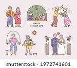 happy senior couple lifestyle....   Shutterstock .eps vector #1972741601