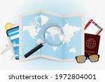 travel destination greece ... | Shutterstock .eps vector #1972804001