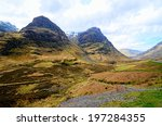 Highland Landscape Of Glen Coe...