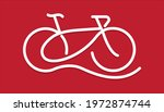 cycling line pattern banner....   Shutterstock .eps vector #1972874744