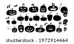 happy halloween magic... | Shutterstock .eps vector #1972914464