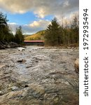 Covered Bridge In Albany Nh At...