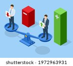 isometric up and down or rise... | Shutterstock .eps vector #1972963931