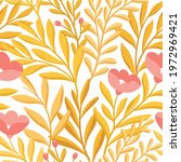 hand drawn floral pattern....   Shutterstock .eps vector #1972969421
