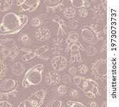 space set vector illustration...   Shutterstock .eps vector #1973073737