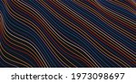 abstract background of waves of ...   Shutterstock .eps vector #1973098697
