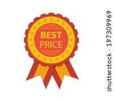 vector best price red label...   Shutterstock .eps vector #197309969