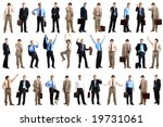 young  smiling businessman.... | Shutterstock . vector #19731061