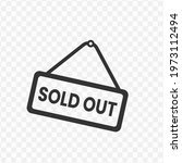 transparent sold out icon png ...