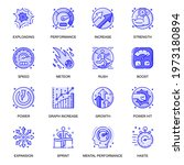 performance web flat line icons ... | Shutterstock .eps vector #1973180894