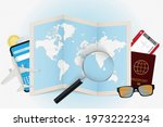 travel destination maldives ... | Shutterstock .eps vector #1973222234
