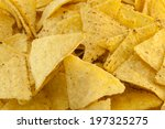 tortilla chips. | Shutterstock . vector #197325275