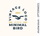 Abstract Bird Logo Design...