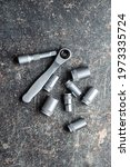 Mini Ratchet Wrench With Set Of ...