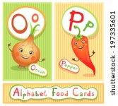 vector educational alphabet...   Shutterstock .eps vector #197335601