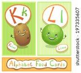 vector educational alphabet...   Shutterstock .eps vector #197335607