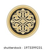 ancient heraldic emblem of gold ...   Shutterstock .eps vector #1973399231