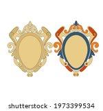 ancient heraldic emblem of gold ...   Shutterstock .eps vector #1973399534