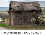 An Old Abandoned Wooden...