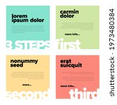 four content color squares for...   Shutterstock .eps vector #1973480384