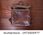 Handmade Backpack Made Of Brown ...