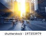 brisbane city traffic | Shutterstock . vector #197353979