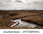 Vast Icelandic Landscape With...