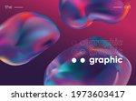 3d background with gradient... | Shutterstock .eps vector #1973603417