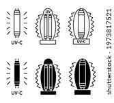 bactericidal uv lamp. uv c...   Shutterstock .eps vector #1973817521