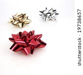 holiday bows | Shutterstock . vector #19738657