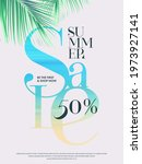 summer sale design template... | Shutterstock .eps vector #1973927141