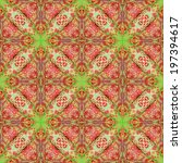 beautiful background pattern... | Shutterstock . vector #197394617