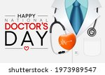 national doctors' day is a day... | Shutterstock .eps vector #1973989547