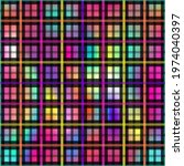 abstract seamless squares... | Shutterstock .eps vector #1974040397