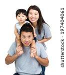 happy asian family | Shutterstock . vector #197404061