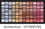 metal gradient set. textured... | Shutterstock .eps vector #1974055781