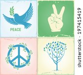 set of symbols for the... | Shutterstock .eps vector #197415419