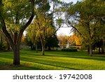 autumn in the park | Shutterstock . vector #19742008