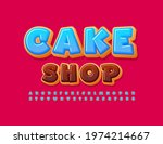 vector colorful poster cake...   Shutterstock .eps vector #1974214667