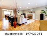 elegant living room with... | Shutterstock . vector #197423051