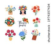 Flowers Stickers Collection....