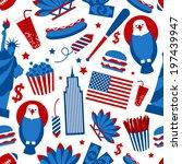 New York Usa Set Of Liberty...