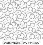 curl seamless pattern. grey...   Shutterstock .eps vector #1974440327