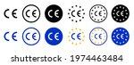 ce standard mark set logo icons ... | Shutterstock .eps vector #1974463484