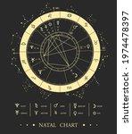modern magic witchcraft...   Shutterstock .eps vector #1974478397