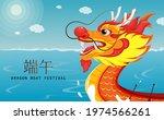 happy dragon boat festival... | Shutterstock .eps vector #1974566261