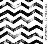 seamless zig zag vector pattern.... | Shutterstock .eps vector #1974612461